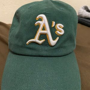 47 Accessories - Oakland A's 47 Brand Adjustable Hat Dad Hat